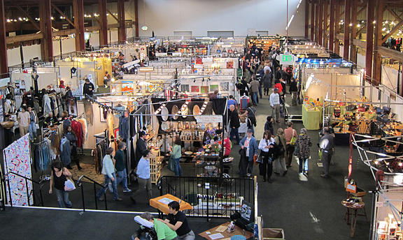 Mixed Media - Kpfa Crafts Fair Concourse Center by Many Artists