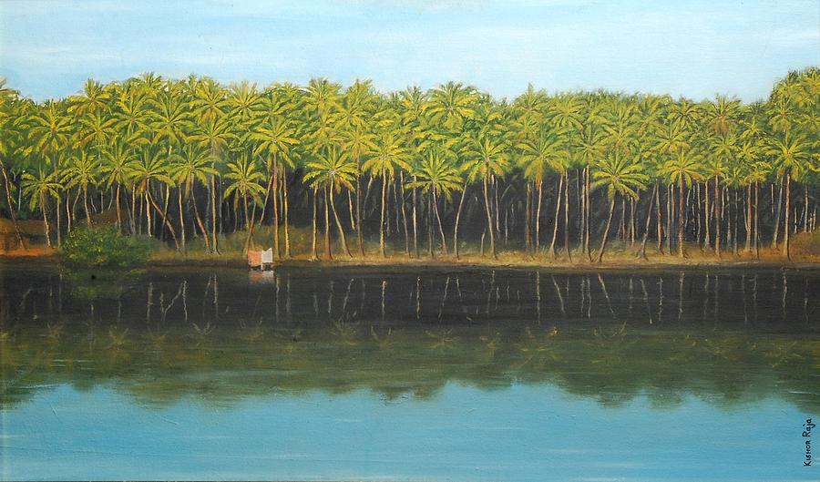 Kr 375 Face Of Kerala Painting
