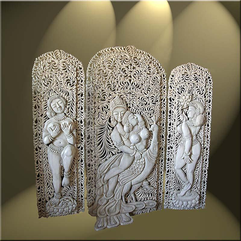 Krishna And Radha Sculpture