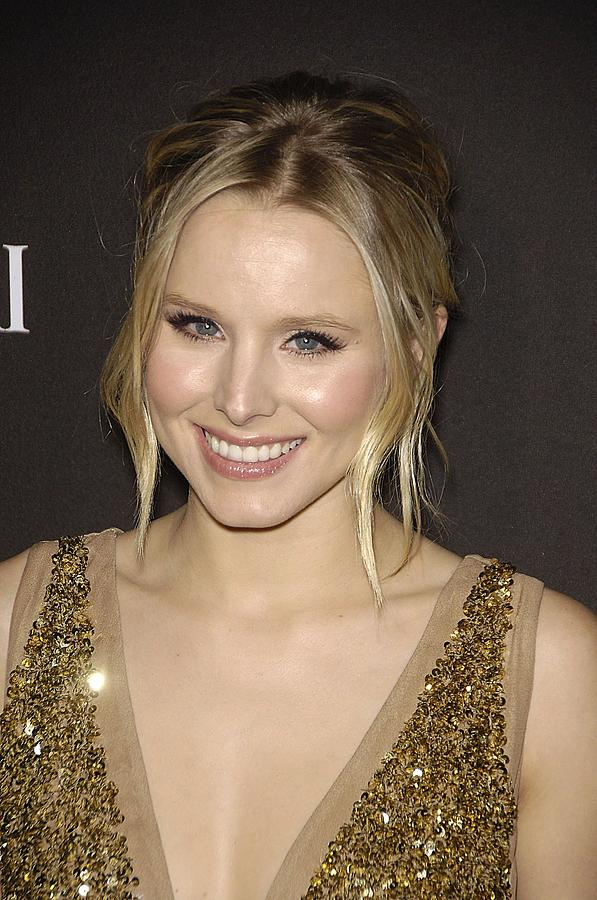 Kristen Bell At Arrivals For 12th Photograph  - Kristen Bell At Arrivals For 12th Fine Art Print