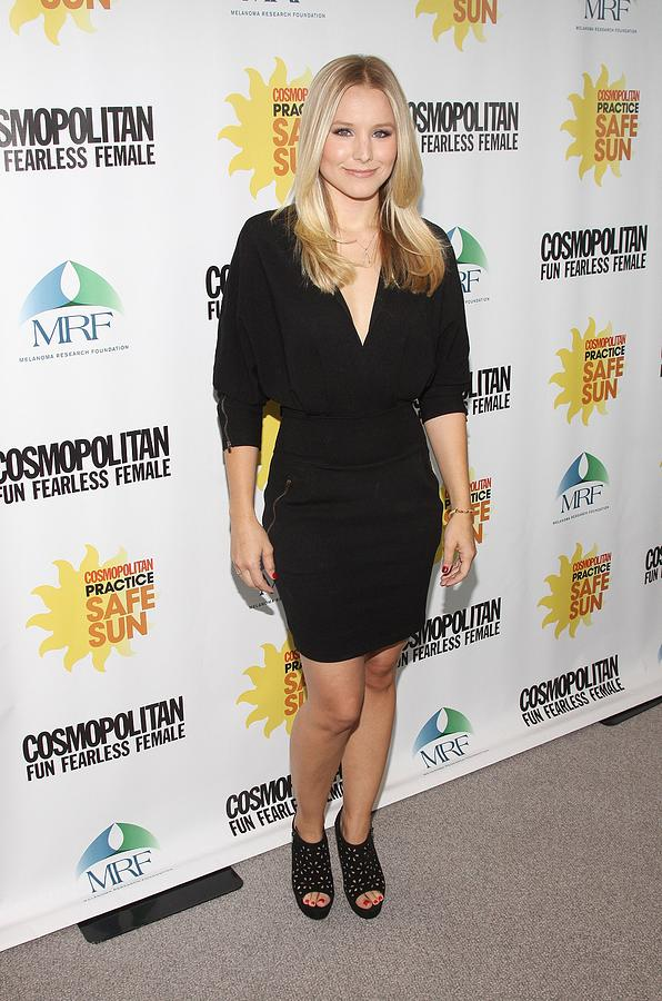 Kristen Bell At Arrivals For Cosmos Photograph