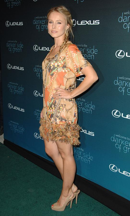 Kristen Bell At Arrivals For The Darker Photograph
