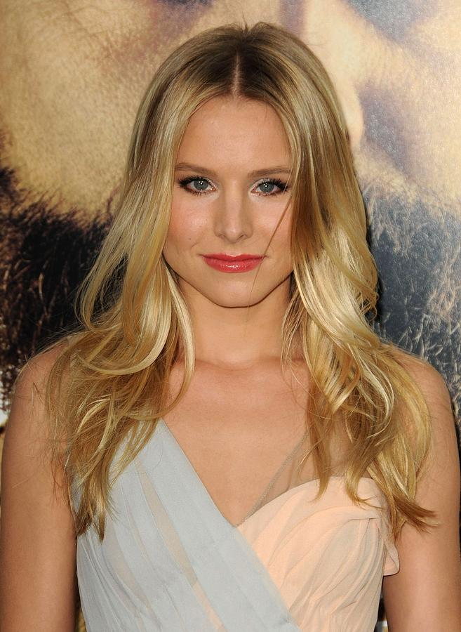 Kristen Bell At Arrivals For The Photograph  - Kristen Bell At Arrivals For The Fine Art Print
