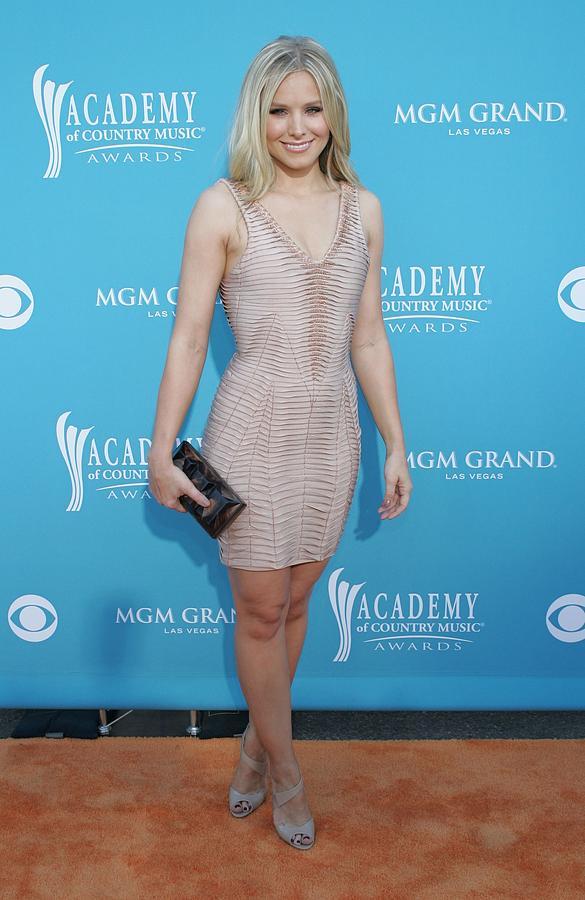 Kristen Bell Wearing A Herve Leger Photograph