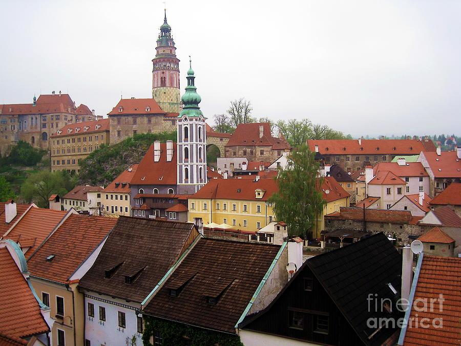 Krumlov  Roofs Photograph