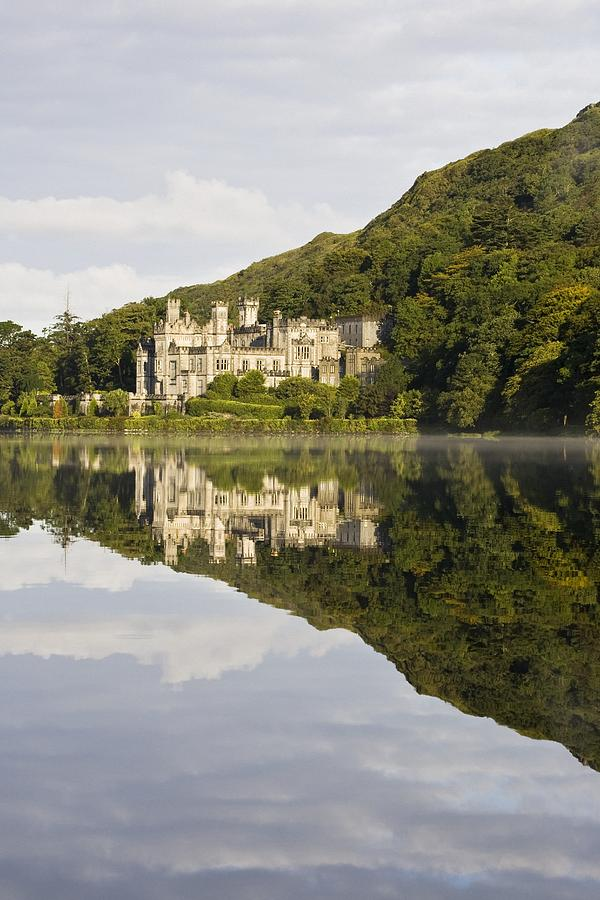 Kylemore Abbey, County Galway, Ireland Photograph  - Kylemore Abbey, County Galway, Ireland Fine Art Print