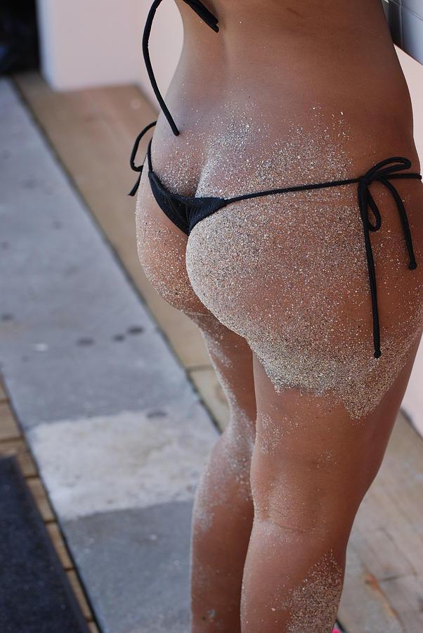 Thong in ass pics