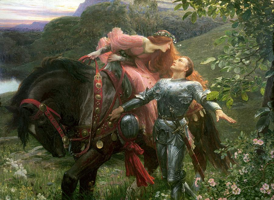 La Belle Dame Sans Merci Painting