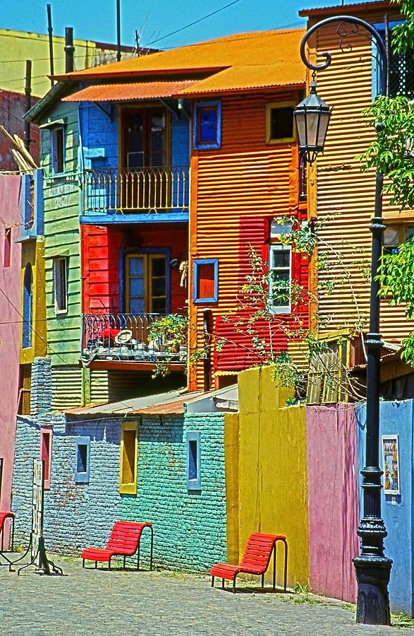 La Boca - Buenos Aires Photograph