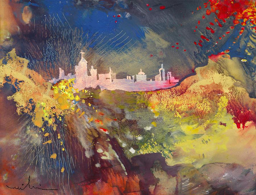 La Ciudad Encantada Painting