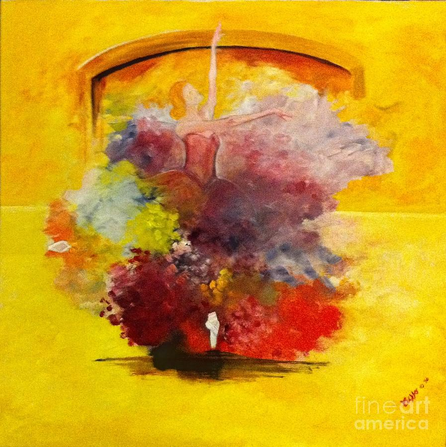 La Danza Dei Colori Painting  - La Danza Dei Colori Fine Art Print
