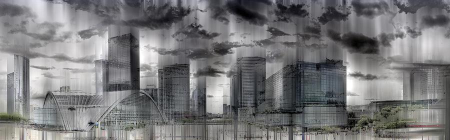 La Defense Paris Digital Art