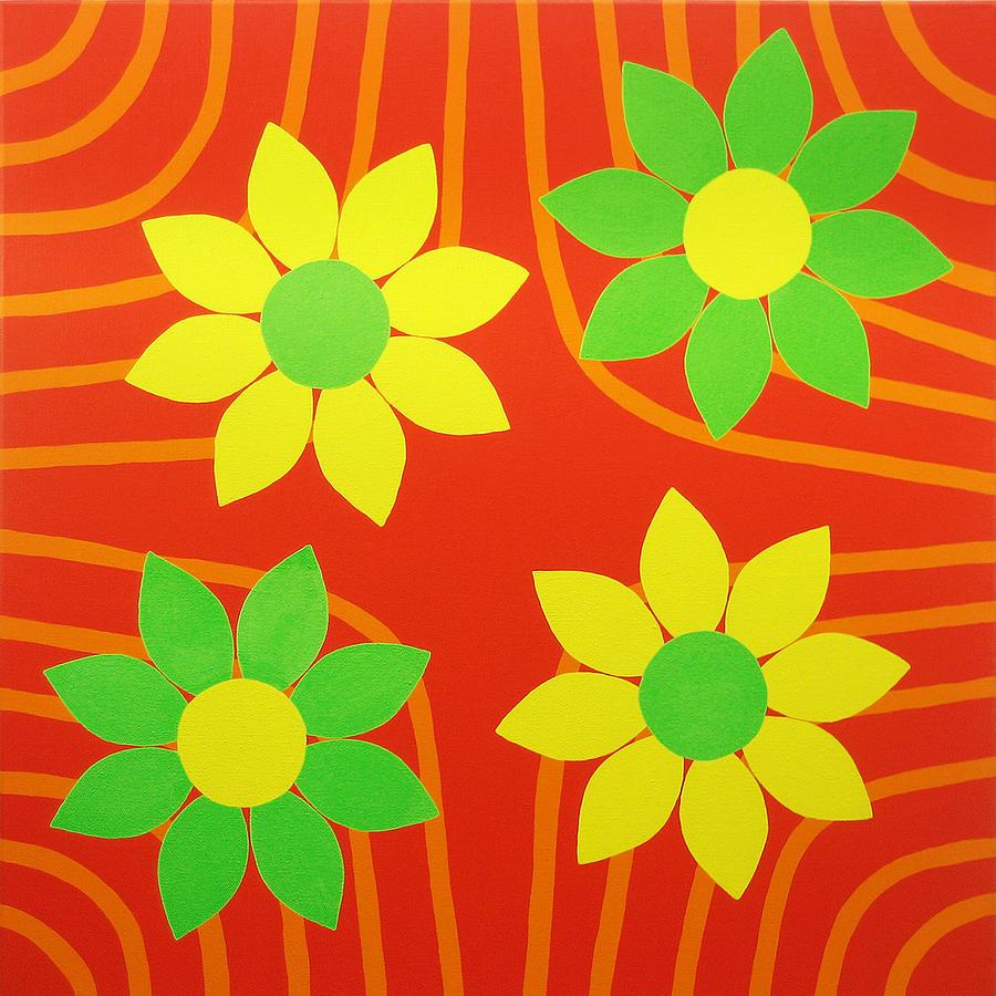 La Flor De La Vida Painting