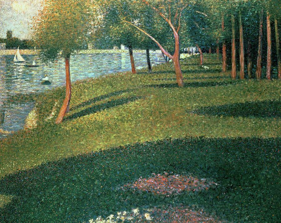 La Grande Jatte Painting
