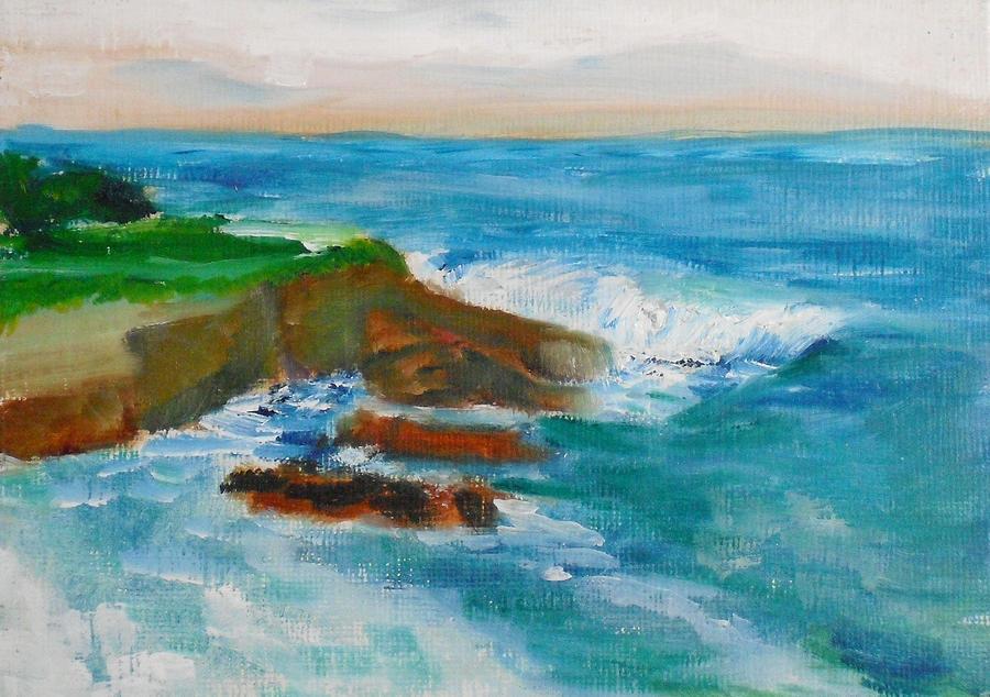 La Jolla Cove 041 Painting