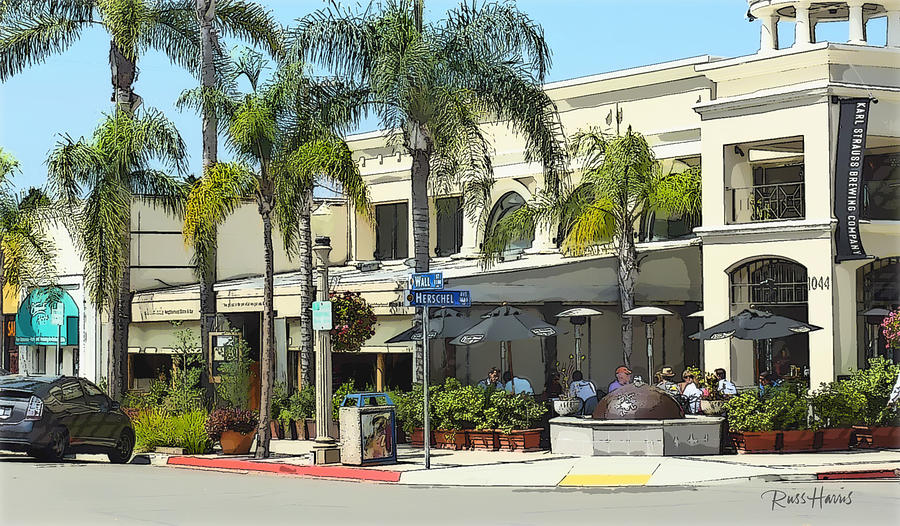 La Jolla Village Painting