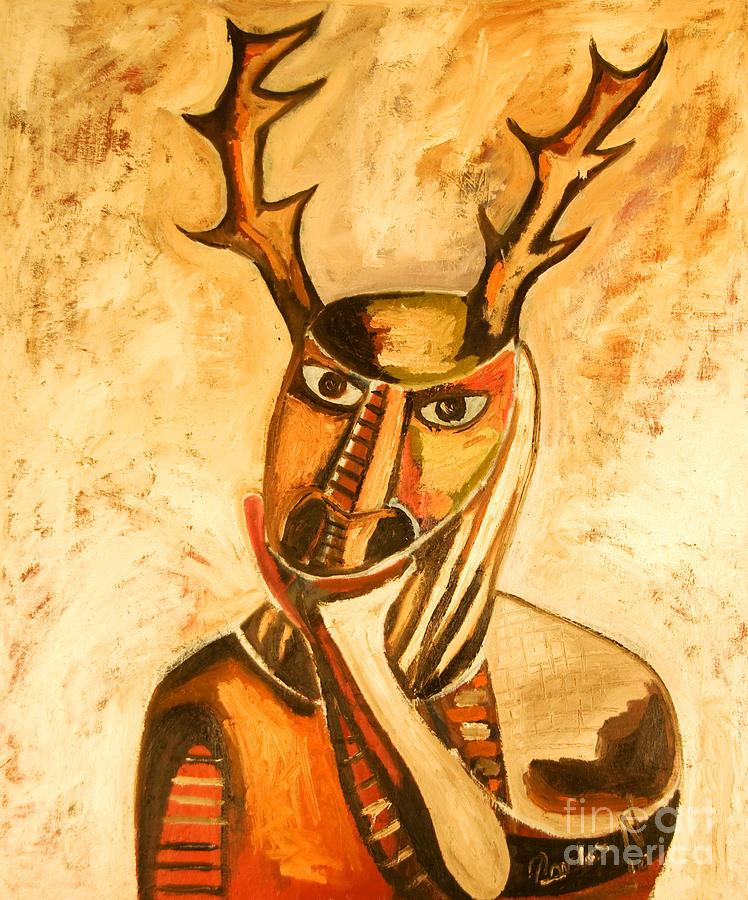 La Mascara Del Vernado Painting