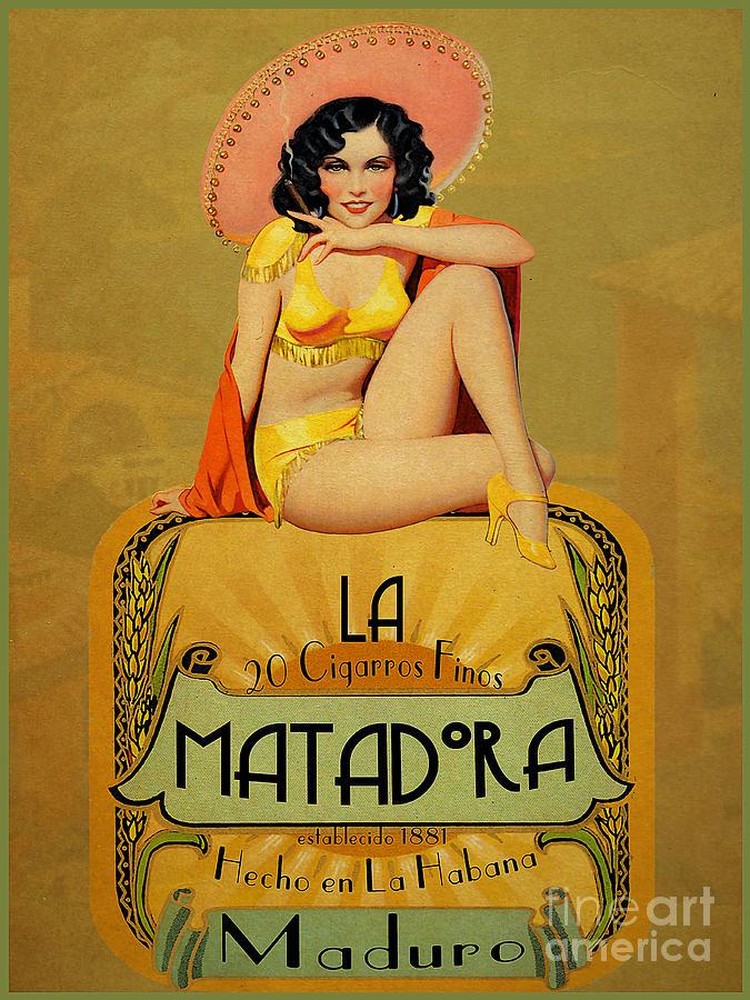 la Matadora Painting