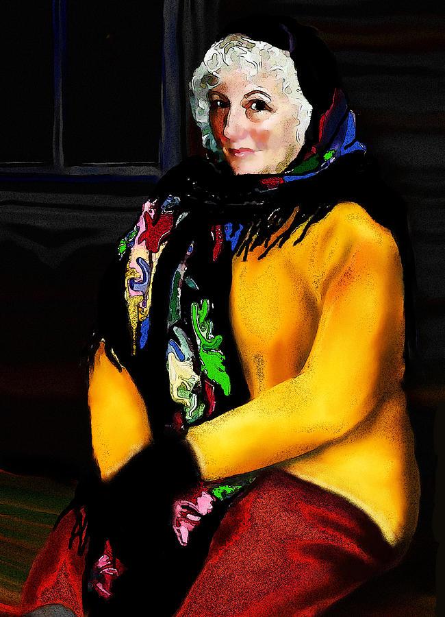 La Paysanne Russe Painting