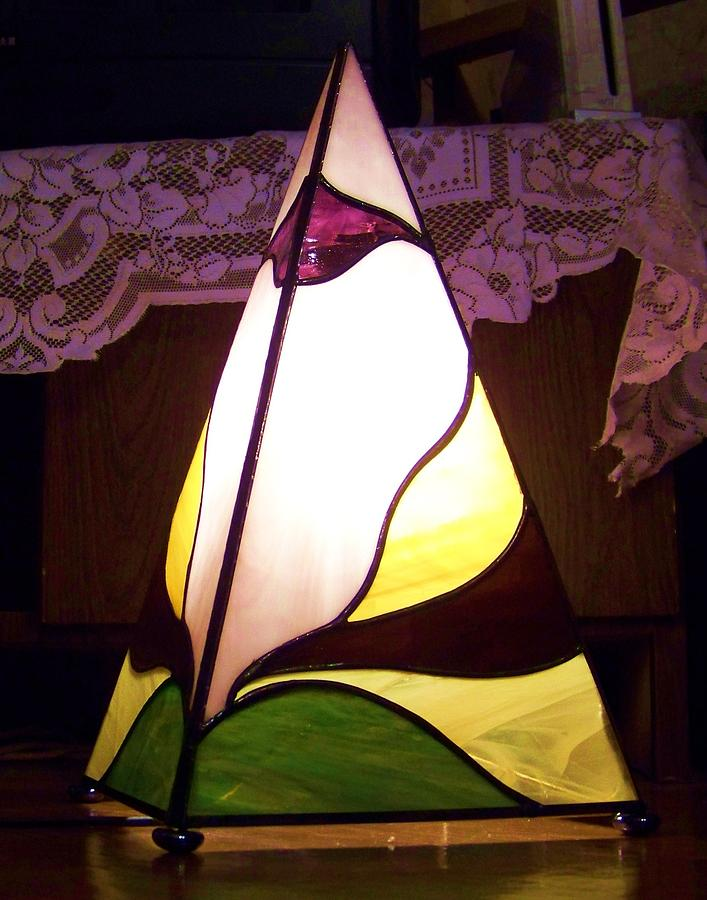 La Piramide Glass Art