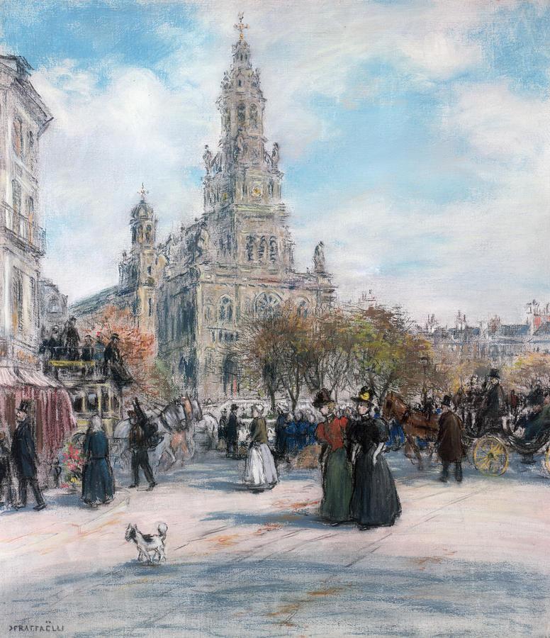 La Place De Trinite Pastel