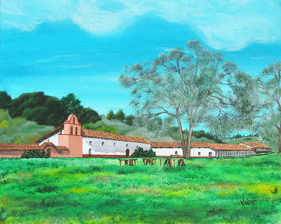 la purisima mission coloring pages - photo #2