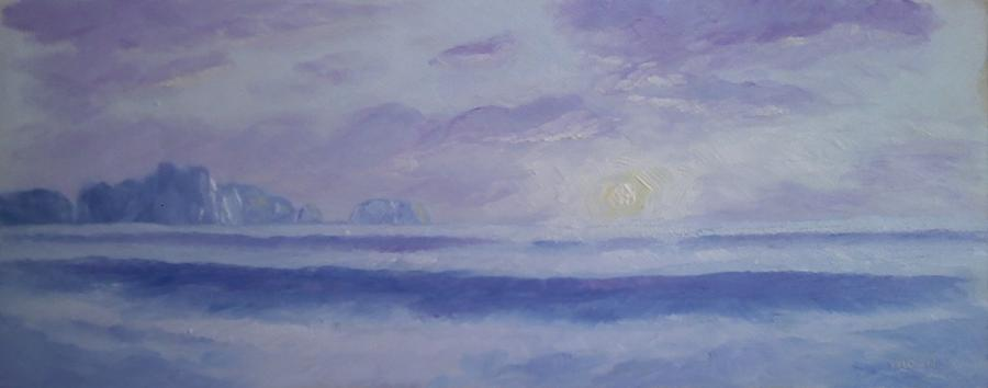 La Push Realto Beach Wa Painting