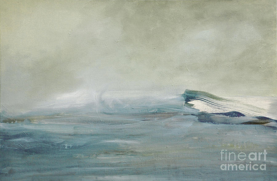 La Vague Painting  - La Vague Fine Art Print
