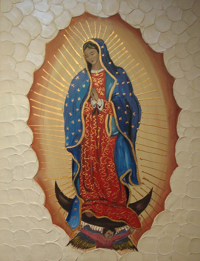 La virgen de guadalupe by carmen faya gomila - Images of la virgen de guadalupe ...