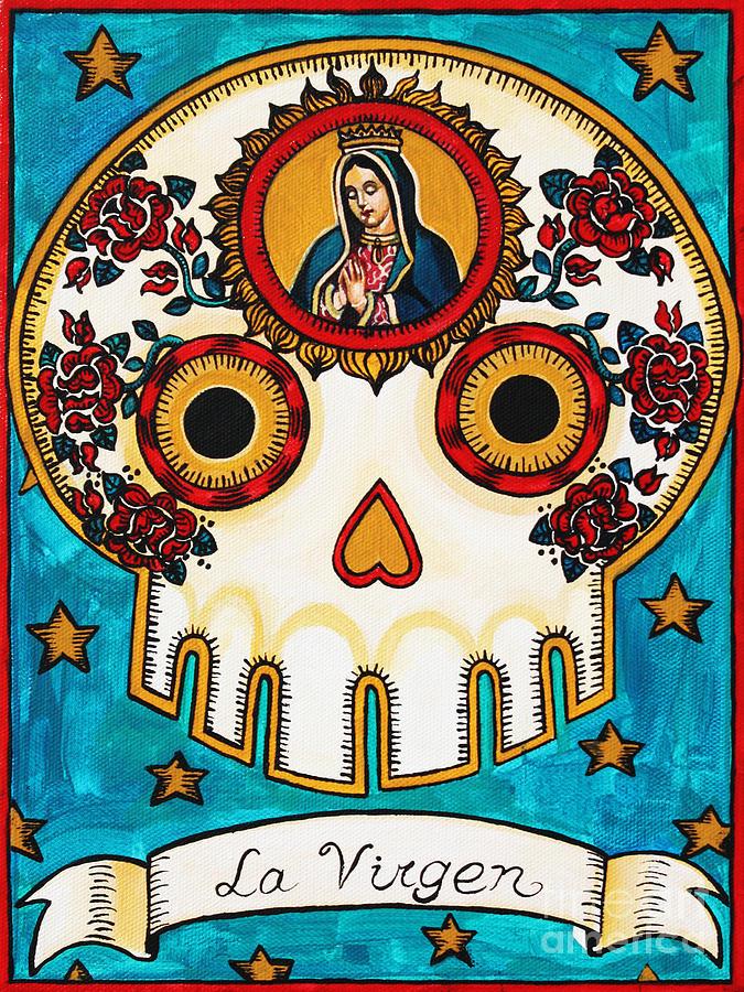 La Virgen Painting