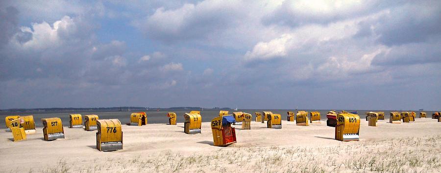 Europe Photograph - Laboe Beach ... by Juergen Weiss