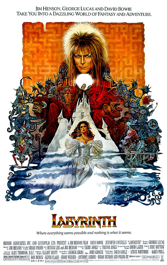 Labyrinth, David Bowie, Jennifer Photograph  - Labyrinth, David Bowie, Jennifer Fine Art Print
