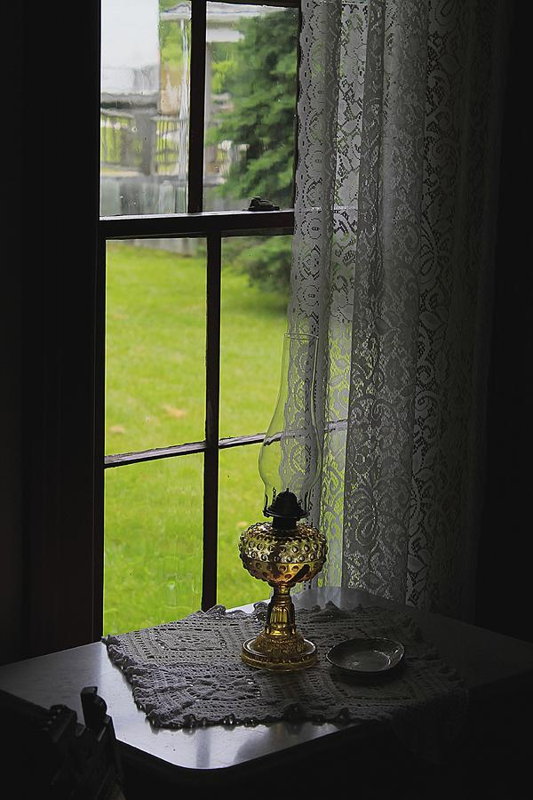 Lace Curtains Photograph