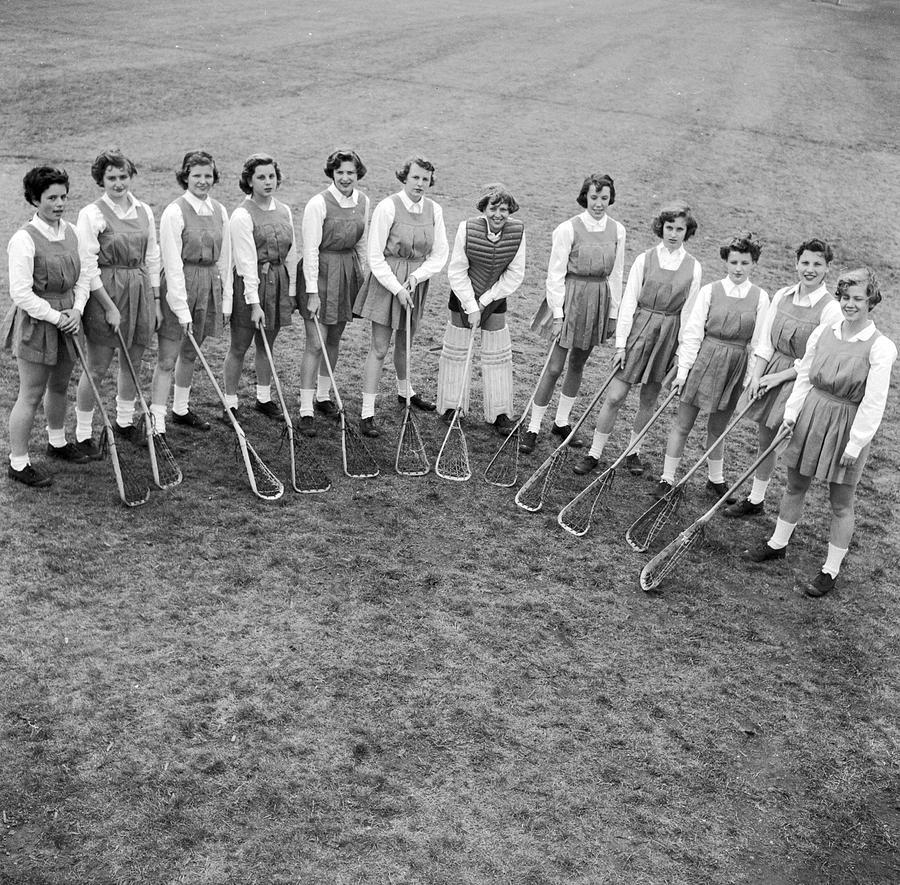 Lacrosse Team Photograph