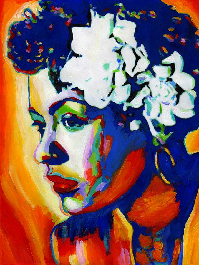 Lady Day Painting