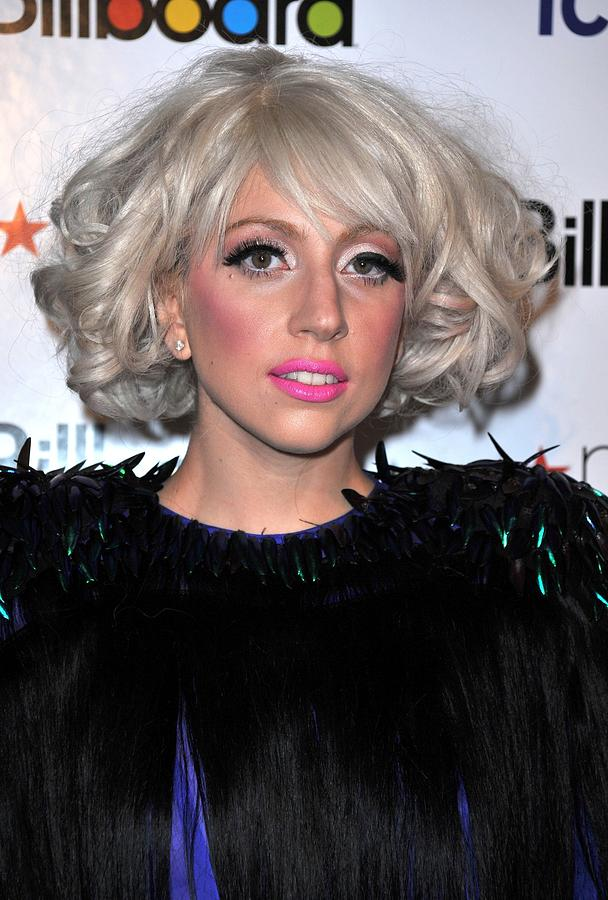 Lady Gaga At Arrivals For Billboards Photograph  - Lady Gaga At Arrivals For Billboards Fine Art Print