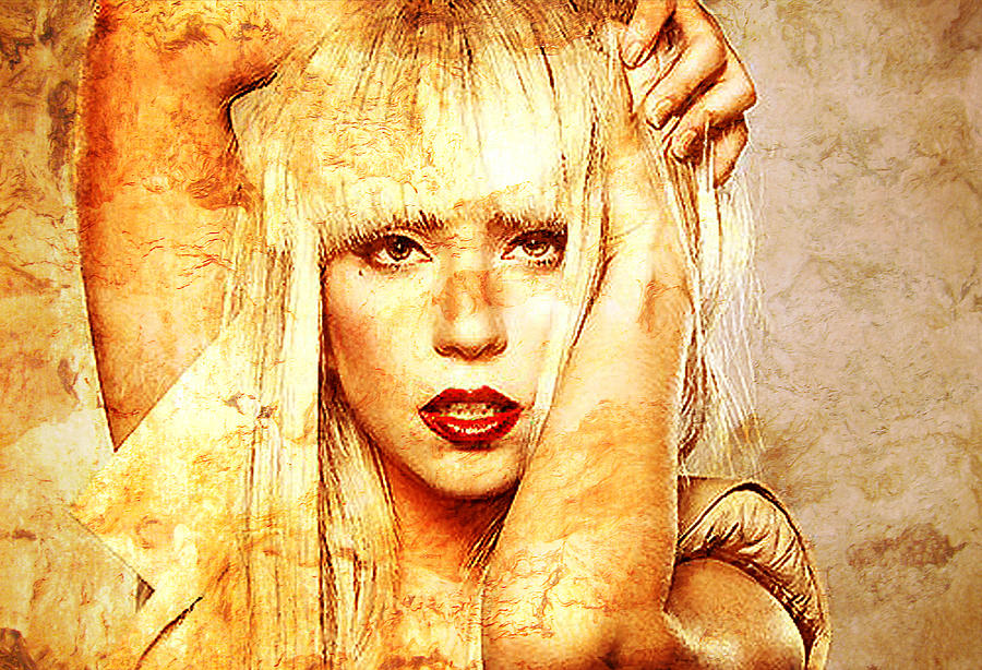 Lady Gaga Photograph  - Lady Gaga Fine Art Print