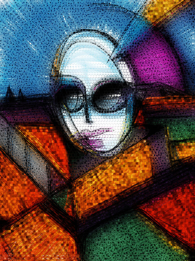 Lady Gaga Mixed Media  - Lady Gaga Fine Art Print
