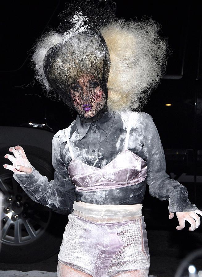 Lady Gaga Photograph - Lady Gaga Wearing A Marc Jacobs Bra by Everett