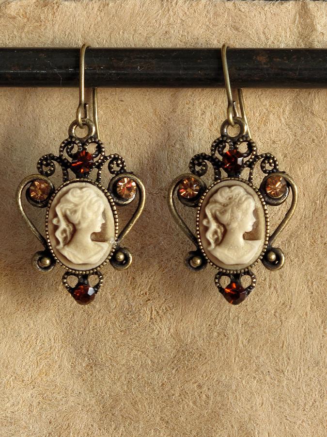 Jewelry Jewelry - Lady In Sepia by Jan Brieger-Scranton