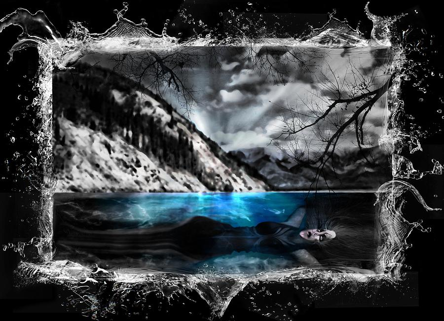 Lady Of The Lake The Creature Photograph