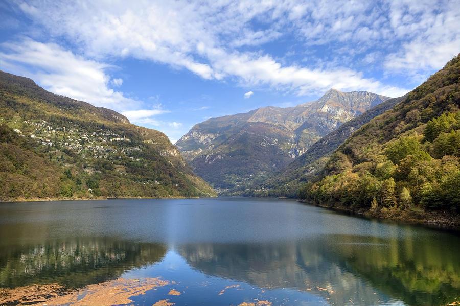 Lago Di Vogorno Photograph - Lago Di Vogorno by Joana Kruse
