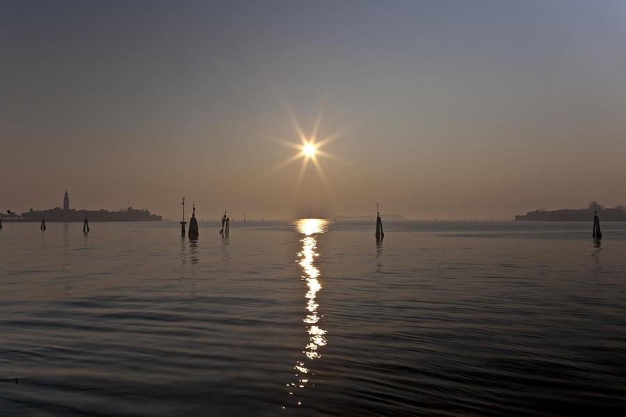 lagoon of Venice Photograph