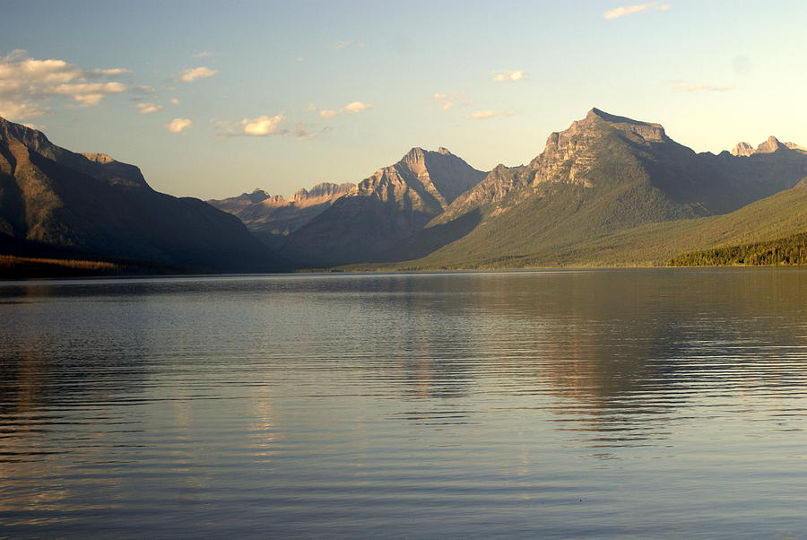 Lake And Mountains Photograph  - Lake And Mountains Fine Art Print