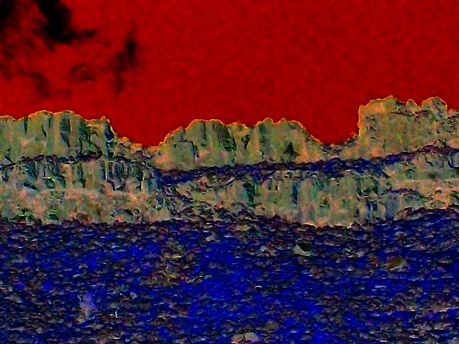 Lake Photograph - Lake Billy Chinook 3 by Randall Weidner