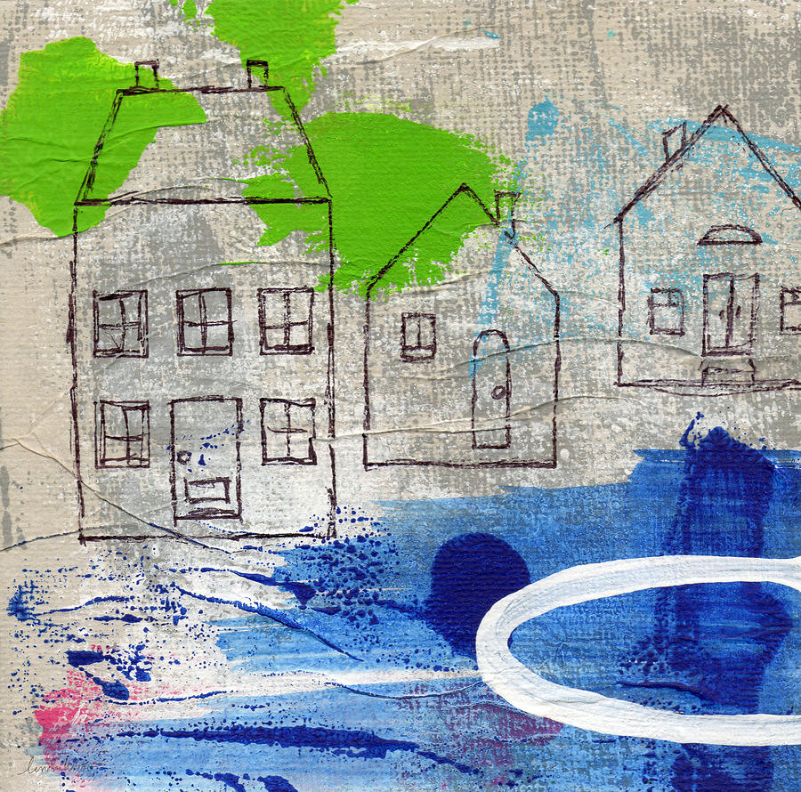 Lake Houses Painting