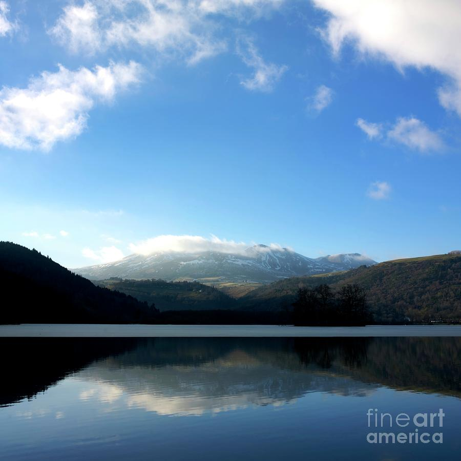 Lake In Auvergne Photograph