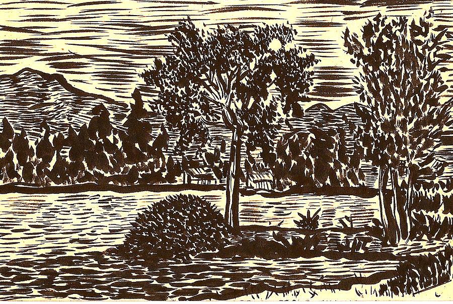 Lake Leek Drawing