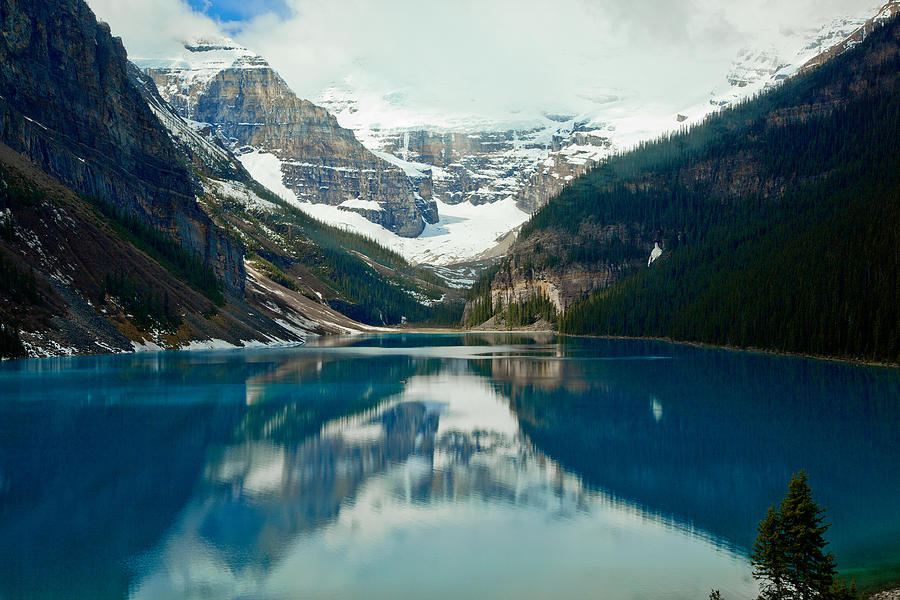 Lake Louise 1783  Photograph  - Lake Louise 1783  Fine Art Print