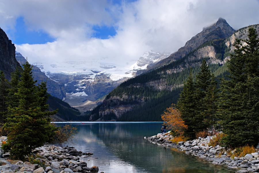 Lake Louise Photograph  - Lake Louise Fine Art Print